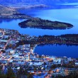 Queenstown downtown at dusk — Stock Photo #11163601