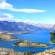 Queenstown downtown with remarkable range — Stock Photo #11163628