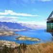 Stock Photo: Aerial Queenstown New Zealand