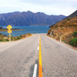 Highway New Zealand — Stock Photo