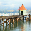 Royalty-Free Stock Photo: Akaroa jetty New Zealand