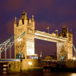 Tower Bridge Night — Stock Photo