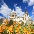 Stock Photo: St. Paul Cathedral with Garden