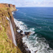 Kilt Rock Waterfall Scotland — Stock Photo #11163994