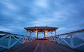 Jetty walkway — Stockfoto