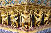 Golden Garuda at grand palace Thailand — Stock Photo