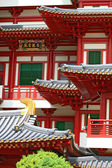 Buddha Tooth Relic Temple in China Town Singapore, closeup — Foto Stock