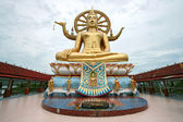 Golden buddha Samui Thailand — Stock fotografie