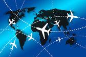 World travel concept — Stock Photo