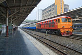 Train locomotive diesel — Photo