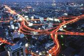 Bangkok Highway at Dusk — ストック写真