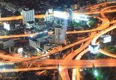 Bangkok Highway Closeup — Stock Photo