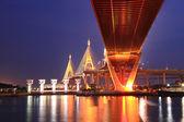 Industriële brug — Stockfoto