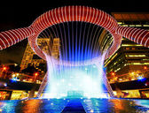 Singapore Fountain of wealth — Stock Photo