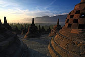 Borobudur Temple Stupa Indonesia — Stock Photo