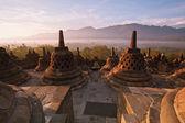 Indonesia templo borobudur — Foto de Stock