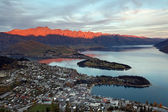 Cityscape of queenstown — Stock Photo