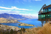 Aerial Queenstown New Zealand — Stock Photo