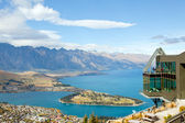 Queenstown from Bob's Peak — Stock Photo