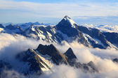 Mountain Cook Peak — Stock Photo