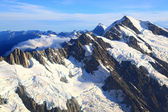 Mountain Cook Peak New Zealand — ストック写真