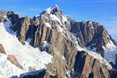 Aerial view of suthern alpine alps — Stock Photo