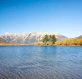 Lake Pearson Arthur's pass National Park New Zealand — Stock Photo