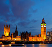 Panorama Big Ben — Stock Photo