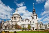 лондонский собор святого павла — Стоковое фото