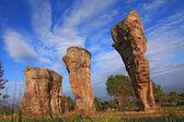 泰国巨石阵,铁道部显考 — 图库照片