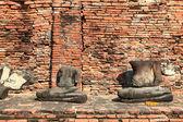 Headless buddha statue — Foto Stock