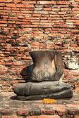 Bezhlavá socha buddhy — Stock fotografie