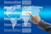 World Innovation — Stock Photo