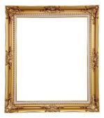 Isolated blank classic photo frame — Stock Photo
