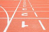 Starting Grid Linie Perspektive — Stockfoto