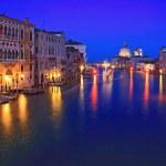 Grand Canel Venice night — Stock Photo