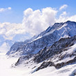 Aletsch alps glacier Switzerland — Stock Photo