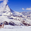Stock Photo: Swiss Alps Matterhorn