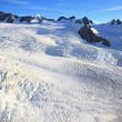 Franz Josef glacier at top view — Stock Photo #11220268