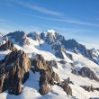 Mountian Cook Range New Zealand — Stock Photo