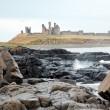 Dunstanburgh castle England — Stock Photo #11220323
