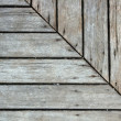 Wooden Pavement — Stock Photo