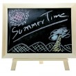 Stock Photo: Summer time blackboard