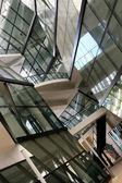 Arte e torre de escritórios modernos em cingapura — Foto Stock