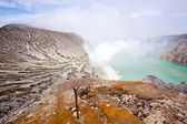 Ijen Crater Indonesia — Stock Photo