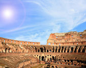 Architectuur van colosseum rome — Stockfoto