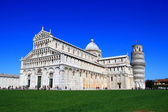 Leaning Tower of Pisa, Pisa Duomo Italy — Stock Photo