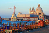 Santa Maria Della Salute Grand canal Venice Italy — Stock Photo