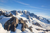Mountian Cook Range New Zealand — Stockfoto