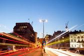 London Light trail — Stock Photo